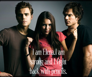 funny, lol, and stefan salvatore image