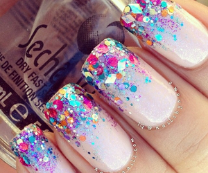 colors, nails, and glitters image