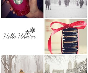 bow, Central Park, and christmas image