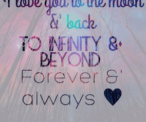 forever, infinity, and love image