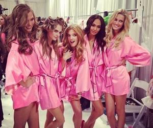 model, pink, and Victoria's Secret image