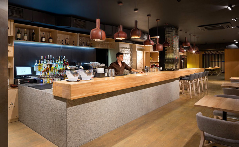 The captivating Fantastic Bar Design With Rustic Minimalist ...