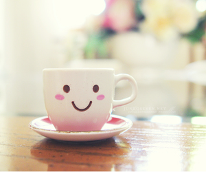 cute, cup, and smile image