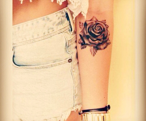 beautiful, girlie, and ink image