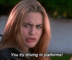 alicia silverstone, fashion, and Clueless image