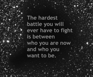 battle, quote, and be image
