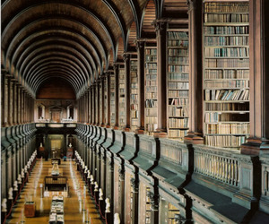library, book, and dublin image