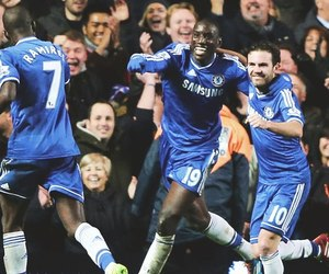 Chelsea FC, football, and goal image
