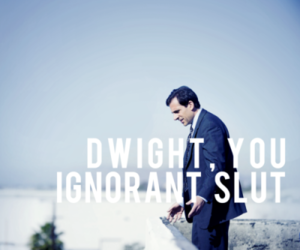 the office, dwight, and funny image