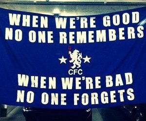banner, blue, and Chelsea image