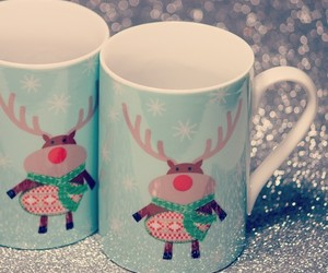 cup, cup of tea, and christmas image
