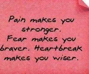 pain, wise, and love image