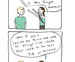 the hunger games, gale hawthorne, and peeta mellark image