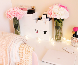 flowers, decor, and girly image