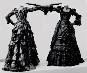 gowns, queenlilith, and yinka shonibare image
