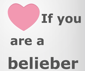 belieber, justin bieber, and believe image