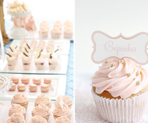 candy, sweets, and cupcake image
