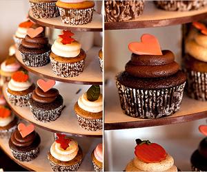 candy, chocolade, and cupcake image