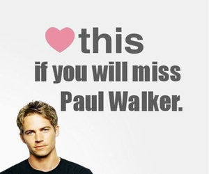 heart, heart it, and paul walker image
