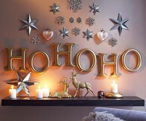 christmas, winter, and hohoho image