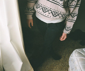 sweater, vintage, and photography image