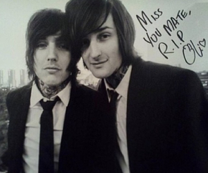 mitch lucker, suicide silence, and bring me the horizon image