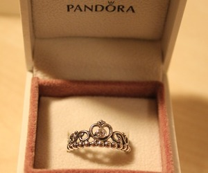 pandora, jewelry, and ring image