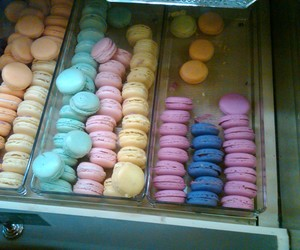 candy, macaron, and sweets image