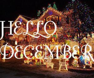 december, christmas, and lights image