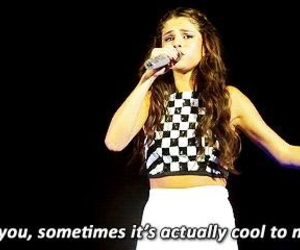 cool, selena gomez, and concert image