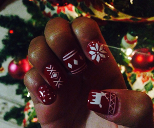 christmas nails image