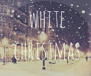 christmas, snow, and white image