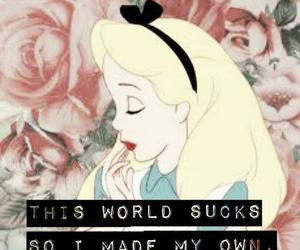 alice, world, and alice in wonderland image