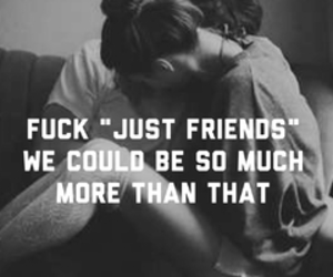 just friends and love image