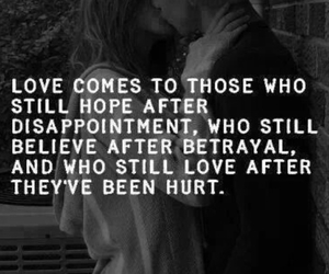love, believe, and quotes image