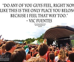 pierce the veil, vic fuentes, and quote image