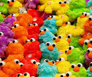 cute, colors, and elmo image