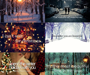 beautiful, christmas, and love image
