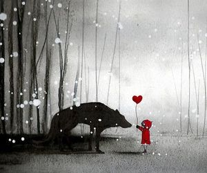 little red riding hood and minoule image