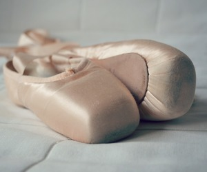 baby pink, ballerina, and ballet image