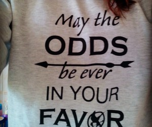 tribute, hunger games, and odds image