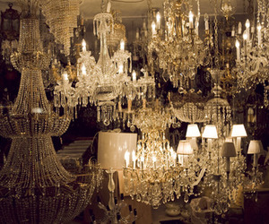 chandelier, light, and lamp image