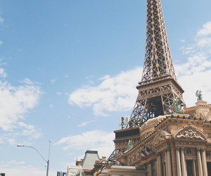 vacation, eiffel tower, and paris image