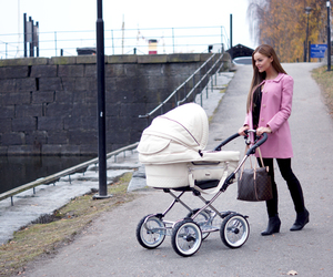baby, fashion, and mom image