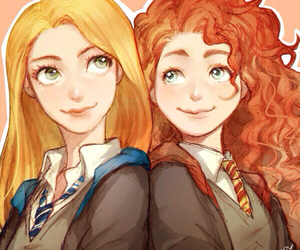 merida, rapunzel, and brave image