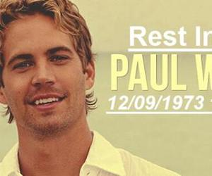 good bye, miss you, and paul walker image