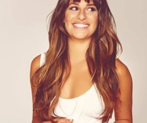 lea michele, glee, and smile image