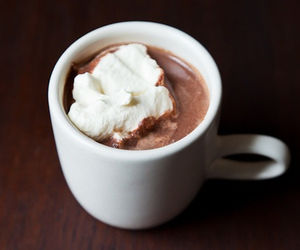 chocolate, cream, and drink image