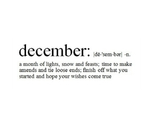 december, christmas, and snow image