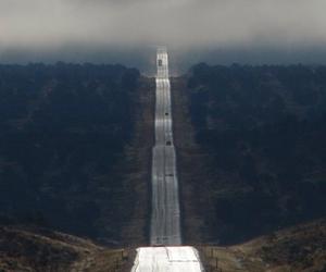 fog, heaven, and road image